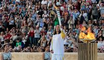Rio 2016: Watch the official handover of the Olympic flame