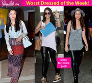Shraddha, Aishwarya and Sonam Kapoor should be ARRESTED for their awful fashion outings this week  view pics!