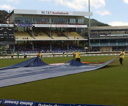 Rain-hit West Indies vs India Test heading for draw
