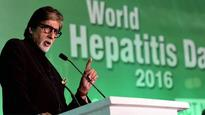 Amitabh Bachchan calls for higher budget spend to prevent Hepatitis B