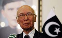 India Focus Of Pak's Foreign Policy, Says Sartaj Sartaj Aziz