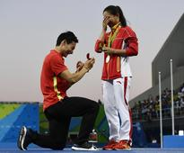 For an Olympic Diver, Is a Marriage Proposal an Even Bigger Prize Than a Silver Medal?