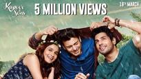 Alia-Sidharth-Fawad's 'Kapoor And Sons' trailer: 5 million views and counting!