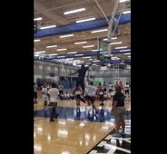 Karl-Anthony Towns mercilessly posterized a kid at basketball camp