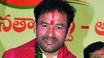 Telangana not spending drought fund: Kishan Reddy
