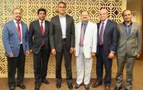 Physicians Meet U.S. Ambassador, Ministers, Officials In India