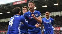 Late Cahill strike helps Chelsea edge past Stoke