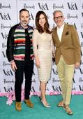Kylie Minogue is the golden girl in billowing gown for star-studded V&A summer bash