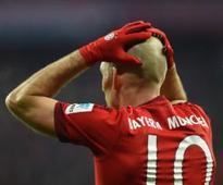 Bayern sweating over Robben