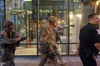 EEUU VIOLENCIA - Toque de queda en Charlotte con cientos de manifestantes en las calles y un muerto
