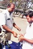Traffic Cop Suspended After Bribe Video Goes Viral