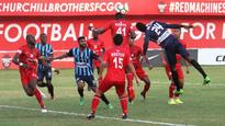 I-league: Table-topper Minerva Punjab's 5-match unbeaten run ended by Churchill Brothers