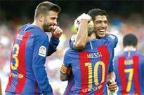 Suarez hattrick in Barca win against Betis