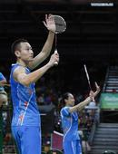 China's Zhang/Zhao wins in mixed doubles group match of Badminton