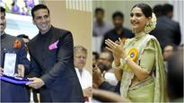 IN PICTURES: Akshay Kumar and Sonam Kapoor shine at the 64th National Film Awards!