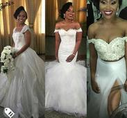 The Kiss, Brides 3 Outfits, Lovely Cake And More About Ebuka Obi-Uchendu's Exquisite Wedding (Photos)