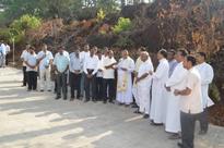 Mangaluru: Bishop D'Souza inaugurates road at Pastoral Institute