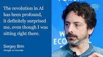 Davos 2017: Google's Sergey Brin Talks AI and Fourth Industrial Revolution