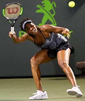 Miami Open: Venus beats Kerber, Konta ousts Halep