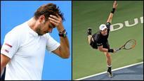 Dubai Open: Wawrinka suffers early defeat, Murray rolls on