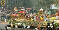 Odisha Tableau depicting Dola Yatra draws applause during 68th Republic Day ceremony