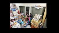 Shifting base leaves Dr Ambedkar's books in tatters