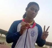 Heema selected for world athletic meet
