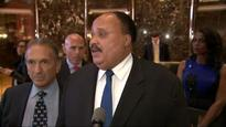 On King day, Trump meets with Martin Luther King III
