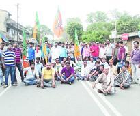 BJP leader shot, 2 held