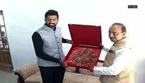 Vijay Goel meets Rohan Bopanna, discusses 'promotion of tennis'
