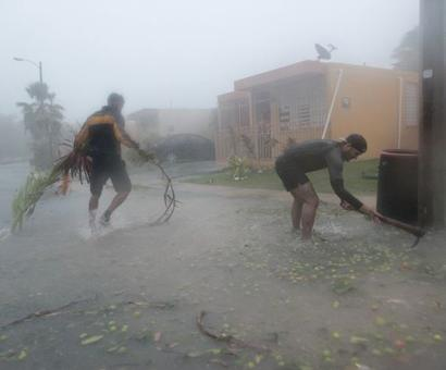 Irma devastates Caribbean islands, Florida braces for 'most powerful storm'