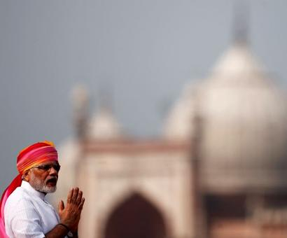Modi's breakout from the past