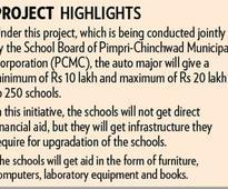 PCMC schools to get better under Bajaj Eduction Prog