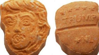 'Donald Trump-shaped' ecstasy pills seized by German police