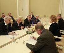 Azerbaijan`s Parliament Speaker meets Chairperson of Federation Council of Russia