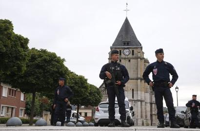 France church attack: Second attacker was known to police