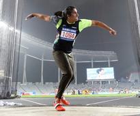 Discus throw champ Seema Punia clinches Rio Olympics berth