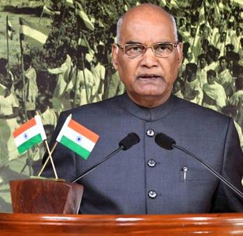 GST, Swachch Bharat finds mention in President's I-Day speech