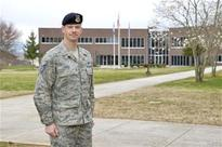 Alaska trooper gains, gives at Air Force NCO academy