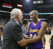 Kobe, Lakers give Spurs a tough game before falling