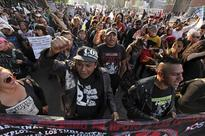 Gas Protests Continue at Mexico Border Crossings
