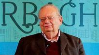 How many alu tikkis did Ruskin Bond eat in one go?