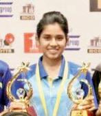Mumbai table tennis: Double glory for Manasi Chiplunkar