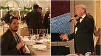 Mika Singh attends US President Donald Trump's pre-inaugural dinner. See pics, videos