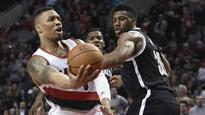 NBA scores: Trail Blazers beat Nets 112-104 for 6th straight win
