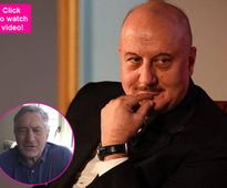 500 films and a congratulatory video from Robert De Niro, surely Anupam Kher is on TOP OF THE WORLD  watch video!