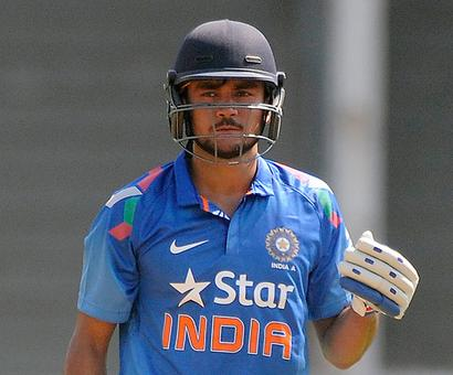 Pandey guides India 'A' to victory over Afghanistan