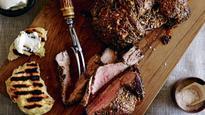 Recipe: Butterflied leg of lamb with kumara flatbreads