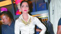 Sonam Kapoor gets annoyed during the launch of designer store