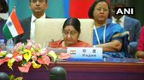 India strongly raises terrorism issue at SCO FMs' meet